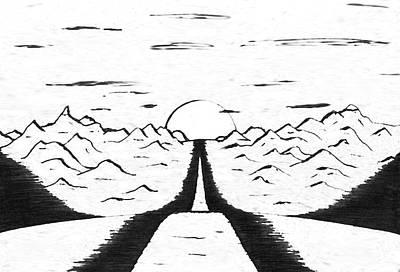 Narrow Gate Art Print by Adam Wells