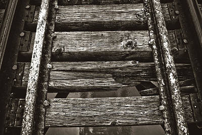 Narrow Gauge Tracks #photography #art #trains Art Print