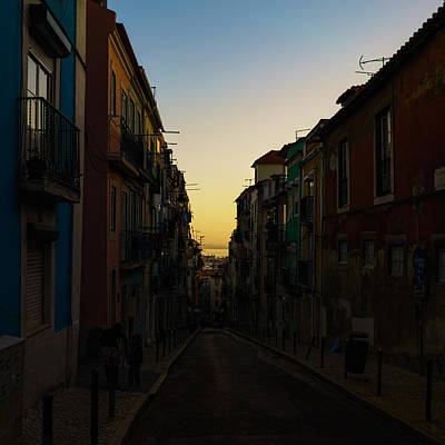 Photograph - Narrow Lisbon Street by Nisah Cheatham