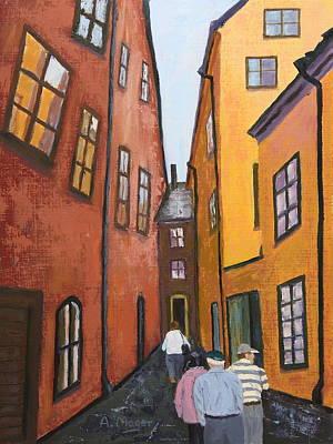 Narrow Passage Art Print