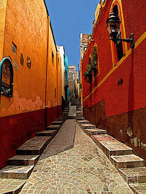 Portal Photograph - Narrow Passage by Mexicolors Art Photography