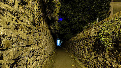 Photograph - Narrow Passageway C by Jacek Wojnarowski