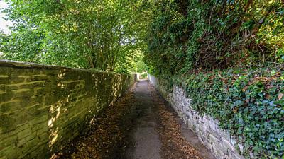 Photograph - Narrow Pathway In Bradford-on-avon by Jacek Wojnarowski