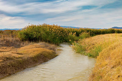 Photograph - Narrow Rio Grande by SR Green
