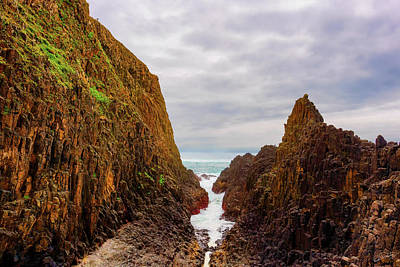 Photograph - Narrow Sea Path by Dee Browning