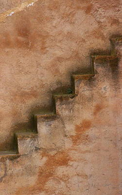 Photograph - Narrow Stairs by Ramona Johnston