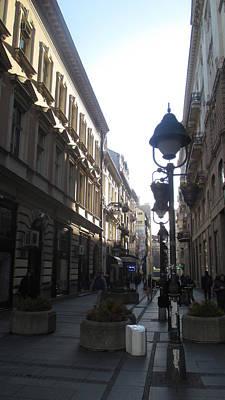 Sunny Photograph - Narrow Street by Anamarija Marinovic