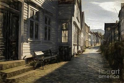 Narrow Street Art Print