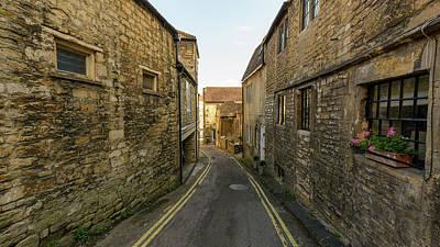 Photograph - Narrow Street In Bradford-on-avon by Jacek Wojnarowski
