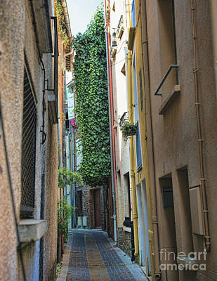 Photograph - Narrow Streets France Vii by Chuck Kuhn