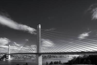 Digital Art - Narrows Bridge by Patrick Groleau