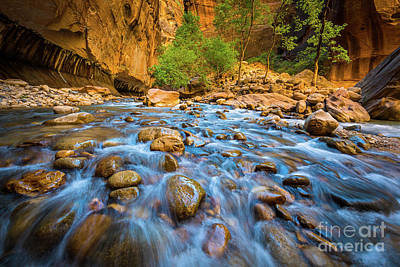 Photograph - Narrows Rocky Stream by Inge Johnsson