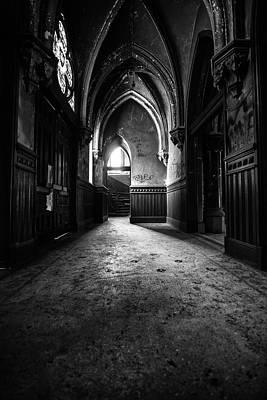 Photograph - Narthex by Lindy Grasser