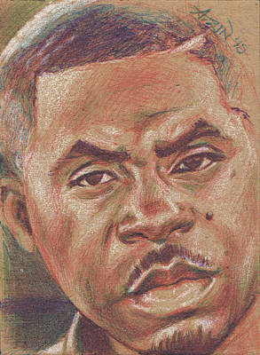 Ballpoint Drawing - Nas by Adrienne Norris