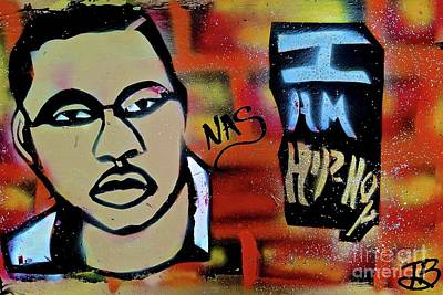 Nas Is Hip Hop Art Print