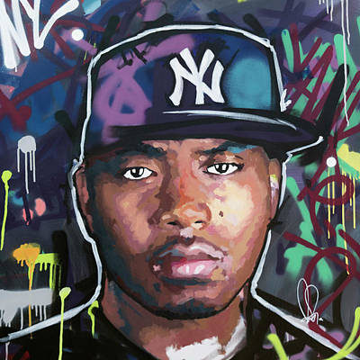 Painting - Nas by Richard Day