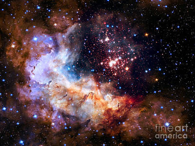 Photograph - Nasa Celestial Fireworks by Rose Santuci-Sofranko