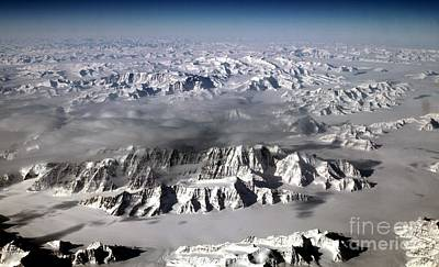 Photograph - Nasa Greenlands Ice Sheet by Rose Santuci-Sofranko