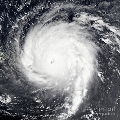 Photograph - Nasa Hurricane Irma Category 5 Satellite Image by Rose Santuci-Sofranko