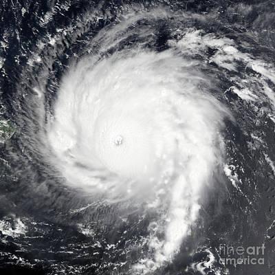 Photograph - Nasa Hurricane Irma Category 5 Satellite Image by Rose Santuci-Sofranko