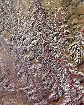 Nasa Image-canyonlands National Park, Utah-2 Art Print