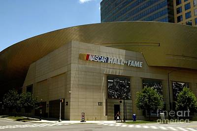 Photograph - Nascar Hall Of Fame by Bob Pardue