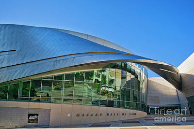 Photograph - Nascar Hall Of Fame by Patrick M Lynch