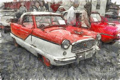 Photograph - Nash Metropolitan Pencil by Edward Fielding