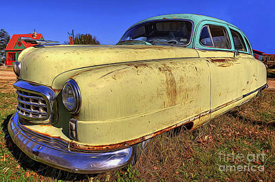 Digital Art - Nash Rambler by Joe Sparks