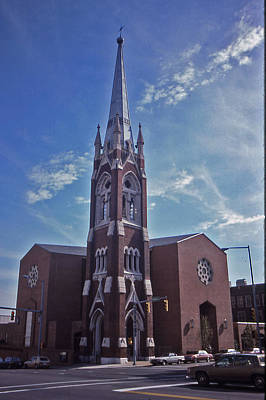 Nashville Church Art Print by Randy Muir