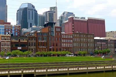 Photograph - Nashville Cityscape by Denise Mazzocco