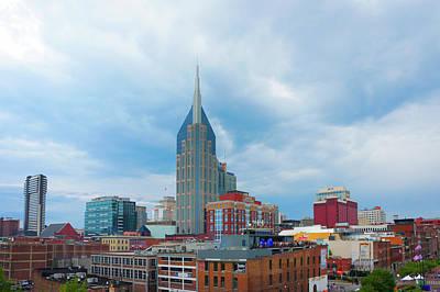 Nashville Downtown, Tn Art Print by Art Spectrum