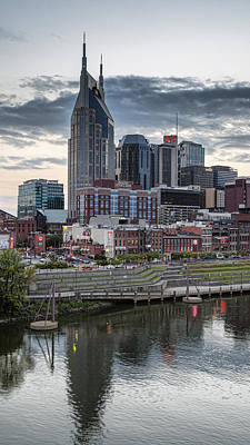 Nashville Evening Art Print by Stephen Stookey