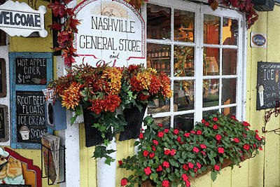 Photograph - Nashville General Store by Scott Kingery