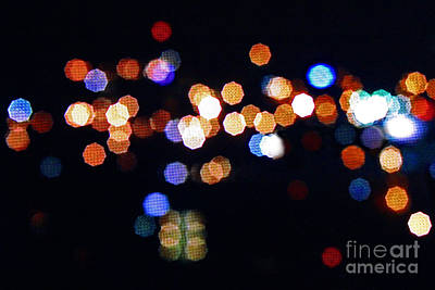 Photograph - Nashville Lights by Karen Adams