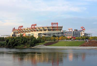 Photograph - Nashville Nissan Stadium by Kristin Elmquist