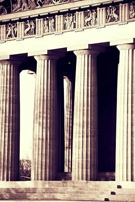 Photograph - Nashville Parthenon Columns by Dan Sproul