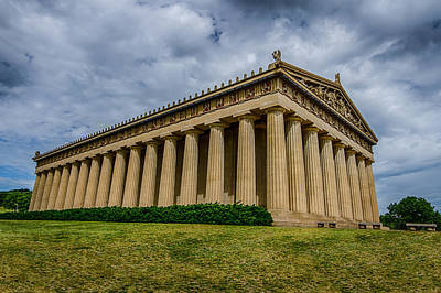 Nashville Parthenon Art Print by Mike Burgquist