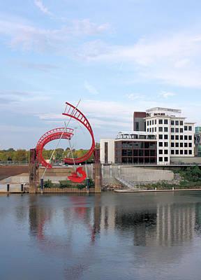 Nashville Tennessee Photograph - Nashville Riverfront by Kristin Elmquist