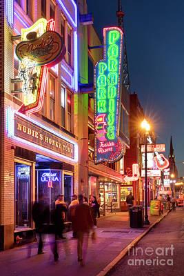 Photograph - Nashville Signs II by Brian Jannsen
