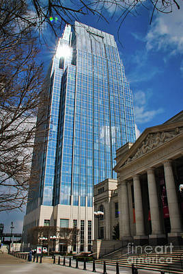 Photograph - Nashville Skyscraper by Pamela Williams