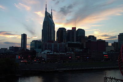 Photograph - Nashville Sunset by Nick Kirby