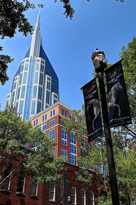 Photograph - Nashville Tennessee At And T Building by Carol Montoya