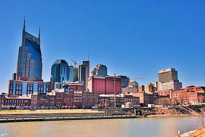 Photograph - Nashville Tennessee Skyline by Lisa Wooten