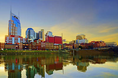 Nashville Tennessee Print by Steven  Michael