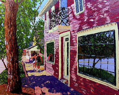Nashville Upside Down Art Print by Stan Hamilton