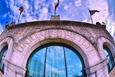 Photograph - Nashville's Union Station by Lisa Wooten