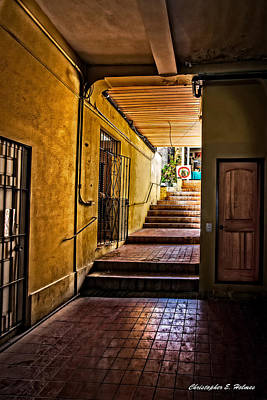 Photograph - Nassau Alley by Christopher Holmes