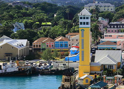 Photograph - Nassau Bahamas by Coby Cooper