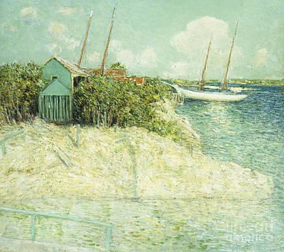 Caribbean Sea Painting - Nassau, Bahamas by Julian Alden Weir
